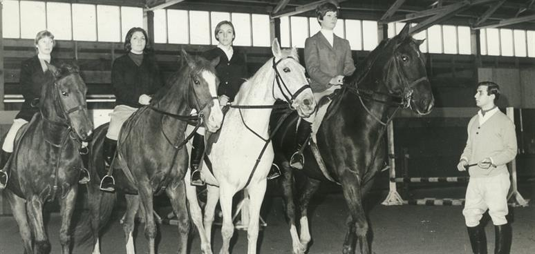 Bob with mounted team