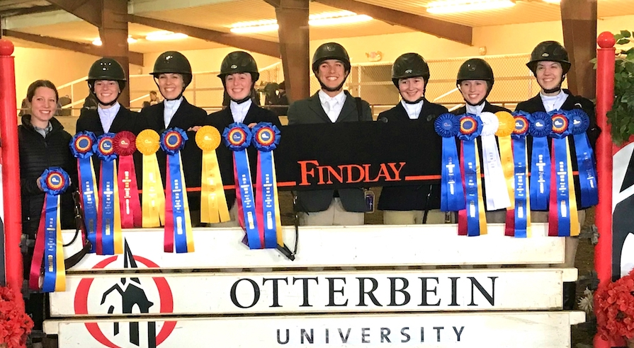 Zone 6 Champions, University of Findlay. Photo by Heather Pinnick copy