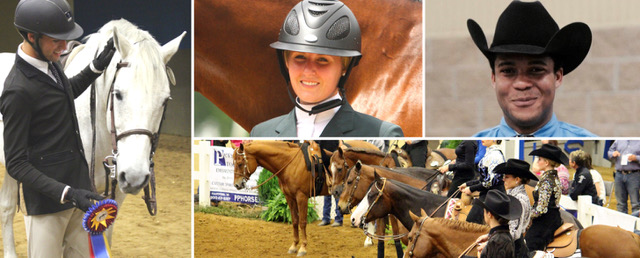Intercollegiate Horse Shows Association Montage