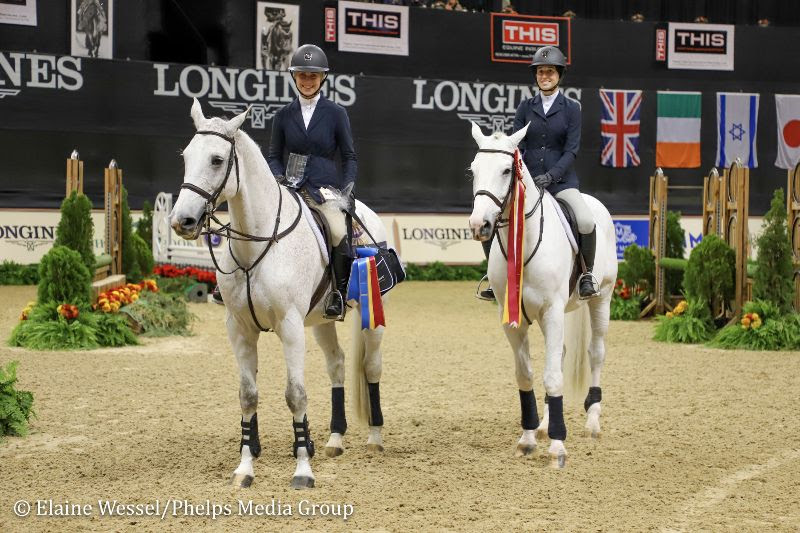Ihsa Athletes Deliver Results At The National Horse Show